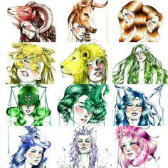 Zodiaco por Mia Desu