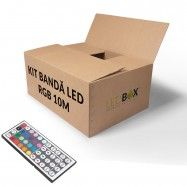 Kit banda rgb 20 m smd 5050 60 culori Lead Boxes, Led Store, Kit, Container, Bands
