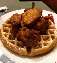 Ceci's Chicken N Waffles facebook.com/pages/Cecis-Chicken-N-Waffles/1495028157463877 // IG: cecischickennwaffles Little Rock, AR CLICK HERE for more black-owned businesses!