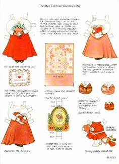 Valentine cards & paper dolls – DollsDoOldDays – Picasa Nettalbum