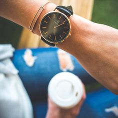 Sipping Coffee with the Marc Watch Daniel Wellington, Watches, Coffee, Accessories, Collection, Wrist Watches, Kaffee, Tag Watches, Watch