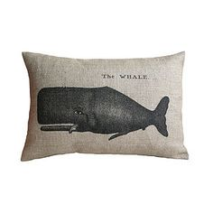The Whale Cushion