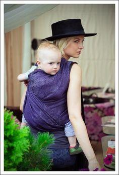 eacc430e4c7 Ellevill Paisley Liberty Linen Baby Wearing Wrap
