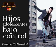¿Tu hijo usa tu cuenta bancaria para pagar sus compras en Internet? ¿Sólo tienes una tarjeta de débito para toda la familia? ¿Te da tranquilidad saber que tu hijo adolescente puede pagar con una tarjeta propia esté donde éste? ¿Quieres enseñarle a gestionar su semanada? La tarjeta PCS MasterCard está hecha para ti y para él.