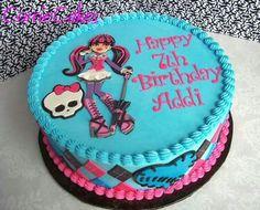 Image result for imagenes de tortas decoradas de monster high draculaura