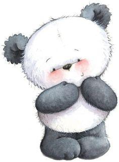 panda bear by Martha Jean Sandy Crocker Illustration Mignonne, Cute Illustration, Panda Love, Cute Panda, Panda Panda, Panda Bears, Cute Images, Cute Pictures, Image Panda