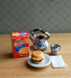 Miniature Sausage Egg Cheese Biscuit