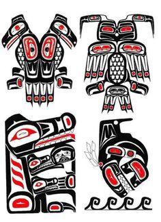 tatto: Haida Tattoo Designs Ideas