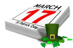March 17 ~ St. Patrick's Day