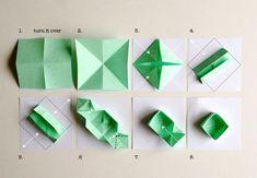 DIY Easy Origami Box