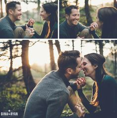 Los Angeles Engagement Photography | Forest Woods Engagement Session | www.GinaAndRyan.com