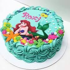 Resultado de imagen para disney princess ariel cakes