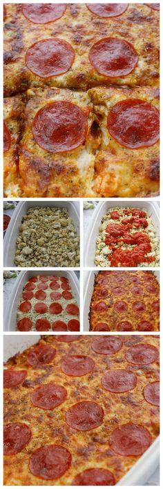 Keto Pizza Casserole is a WINNER! via @isavea2z