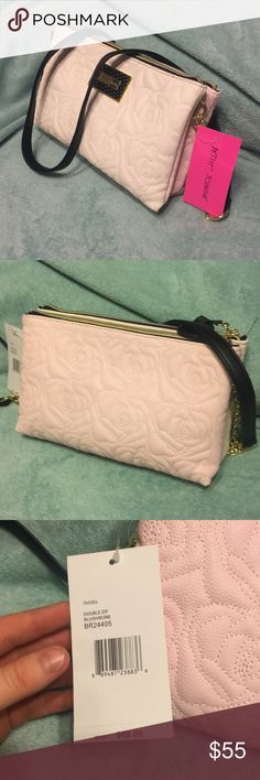 Final price! Adorable Betsey Johnson purse NWT and absolutely adorable! Betsey Johnson Bags Crossbody Bags