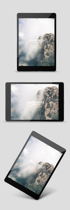 I createthis nexus9 mockup to present some UI concepts. In PSD file you can find front, horizontal and perspectivemockups with editable background. You can use the mockup to show case your design or presentation in silver wall frame with photorealistic effect. Add your image inside the smart object and enjoy you work.