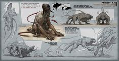 ArtStation - Swarmer - Creature Concept, Anthony Sixto