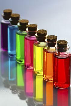 Cada color un aroma, la forma de relacionar el color con un aroma puede ser interesante porque lo van a relacionar sobretodo con las frutas.