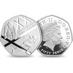 The Glasgow 2014 Commonwealth Games UK 50p Silver Proof Piedfort Coin - £100.00 http://www.royalmint.com/shop/The_Glasgow_2014_Commonwealth_Games_UK_50p_Silver_Proof_Piedfort_Coin