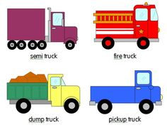 trucks for patterns the measured mom Printable pattern cards for preschool and kindergarten: Trucks!