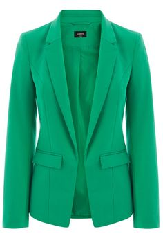 Update your workwear wardrobe this season in this clean cut long sleeve blazer. The piece features pockets on the waist and a single button fastening on the front.