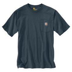f24a81f3 Carhartt Workwear Pocket T-Shirt for Men - Black Stripe - S Carhartt  Workwear,