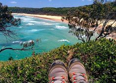 Pausing for a moment to take in the stunning coastline of Alexandria Bay! This spectacular beach is one of many found along the headland of the Noosa National Park.
