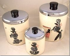OMGEE!  I've been looking for these poodle canisters FOREVER!!