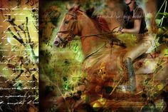 Horse Digital Art - Remain In My Love by Stacy Lee