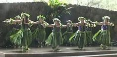 Dancing at a Makahiki Celebration on Kaua'i Hawai'i 2005
