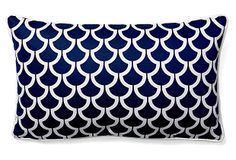 Sotas 12x20 Cotton Pillow, Navy on OneKingsLane.com