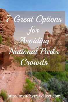 Don't like crowds when you travel? Neither do we. Read more about 7 National Parks where you'll avoid the crowds. Be sure to include them in your USA travel plans.