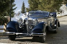 Retro Cars, Vintage Cars, Antique Cars, Roadster, Classy Cars, Old Classic Cars, Mercedes Benz Cars, Fast Cars, Cool Cars