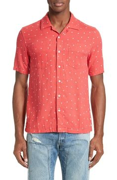 Levi's® Made & Crafted™ Riviera Ditsy Print Camp Shirt available at #Nordstrom