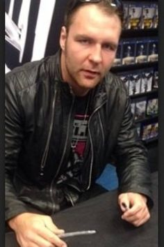 Dean at a signing