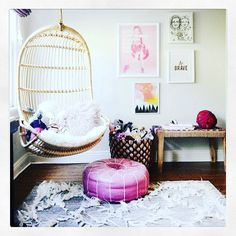 Researching looks for my twins girl's new bedroom. This space looks pretty now doesn't it? Hard to crack a cool room for 5 year olds! #girlsroom #girlsroomdecor #girlsroominspo #girlsroomdesign #interior #interiordesign #interiors #home #dreamhome #house #dreamhouse #moroccanpouffe #boho #bohochic #instagood #instadaily #instalike #instafun #friday