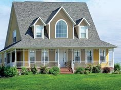 55+ Exterior House Colors