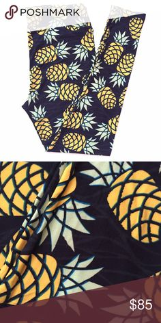NEW TC Pineapples Buttery soft leggings by Lularoe. Brand new with tag. SUPER popular pineapple pattern. Background is black. Made in Indonesia. We are open to offers through the offer button. ☺️ LuLaRoe Pants Leggings