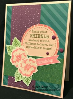 Truly Great Friends... card