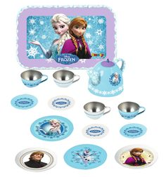 Simba frozen tin tea set #frozen #disney #simbatoys #happy #kids #toys