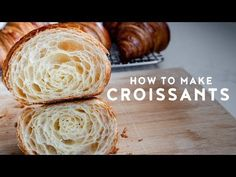 This has been a post long time in the making. 1 year, 7 months and 1 week to be more precise. It was my new year resolution of 2018 and though we in I'm glad I was patient enough to wait and to slowly work through this recipe for you. There are a lot… Bakery Recipes, Bread Recipes, New Recipes, Homemade Croissants, Croissant Recipe, Chocolate Croissant, Brunch, Recipe Please, How To Make Chocolate