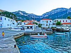 Kyparissi: The Most Beautiful Village in Greece