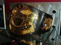 Undisputed WWE championship Belt.