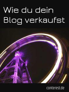 Neu: Wie du dein Blog verkaufst  — Conterest