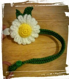 DAISY DUMMY HOLDER Handmade Crochet Available in more colours Dummy not included