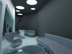 10 Fantasy Tron Night Club http://www.coroflot.com/VoronovNikita/tron-style-club-interior-with-Aleksandra-Gromova