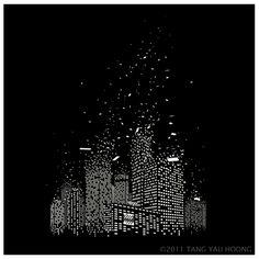 Illusion/Surrealism- So Long, Old World, Tang Yau Hoong City Illustration, Creative Illustration, Tang Yau Hoong, Art Graphique, Stonehenge, Instagram Story Ideas, Optical Illusions, Oeuvre D'art, Old World