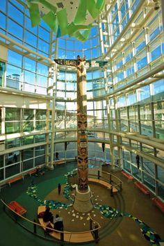 Vancouver International Airport, Canada One of the busiest in the country, Vancouver International Airport served more than 19 million passengers in 2014.