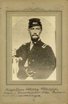 "Henry Hauff, 15th Wisconsin ""Scandinavian"" Regiment | Photograph | Wisconsin Historical Society"