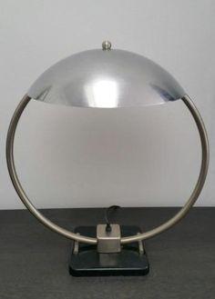 ≥ zeldzame KMD Daalderop bureaulamp Bauhaus stijl - Kunst | Designobjecten - Marktplaats.nl