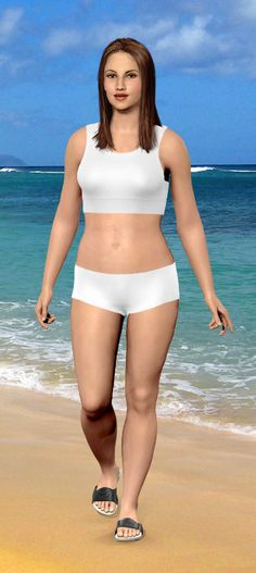 Coolest little website.  Personalize the virtual model, then add your current weight and goal weight....see how different you will look!  This one isn't mine, just a sample, but it is AMAZING and motivational! Just fun to play with!